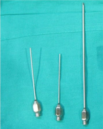 Cánulas para liposucción