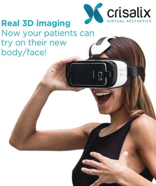 Con las gafas 3d te verás con tu nuevo pecho antes de la intervención