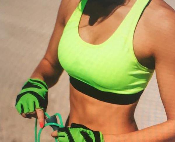 hacer ejercicio después operacion aumento de pecho