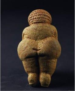diosa con glúteos prominentes