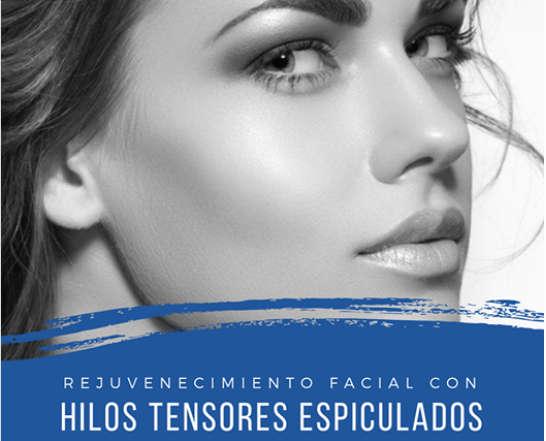 Rejuvenecimiento facial en Valencia con hilos espiculados
