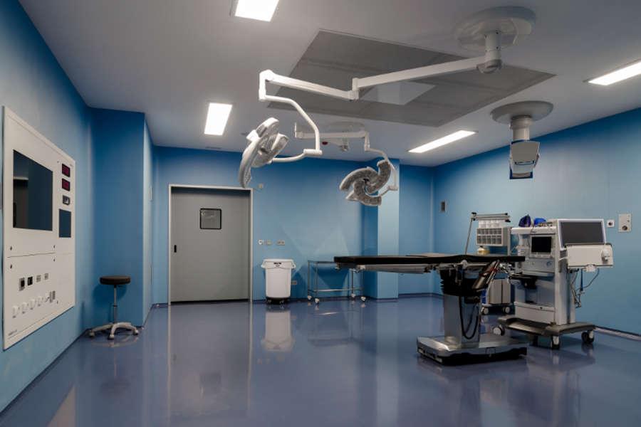 quirófano hospital IMed donde opera el Dr. Moltó