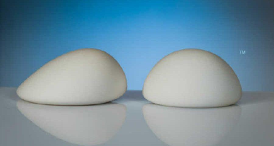 tipos de prótesis de mama anatomicas